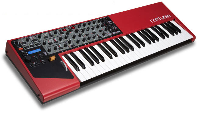Image of Clavia Nord Wave Virtual Analog synthesizer